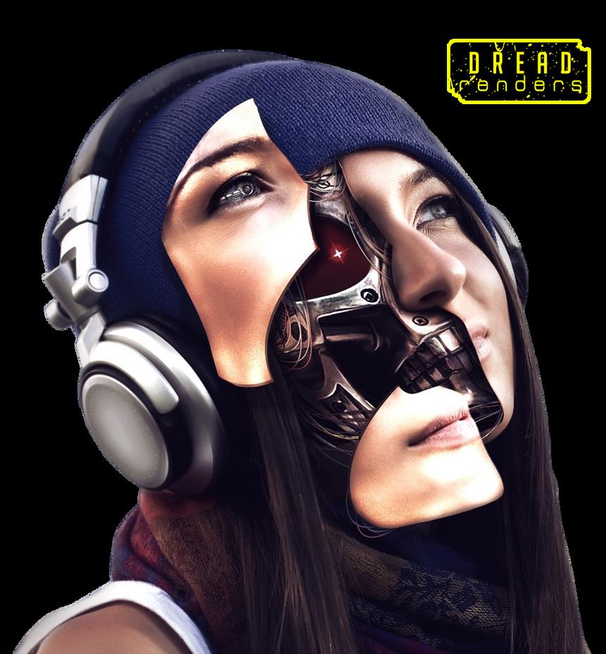 Behind the skin [Cyborg] render by CoisD