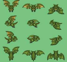 Green dragon by Darklack