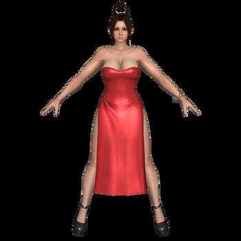 Mai Red Dress by Darklack