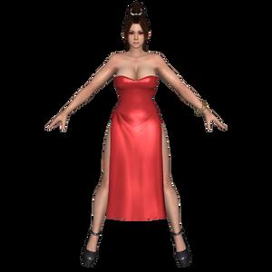 Mai Red Dress