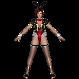 Mila Red Bunny