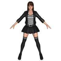 Leifang Jacket Skirt by Darklack