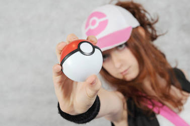 Pokemon Cosplay - Pocket Ball by rumpleteazercat03