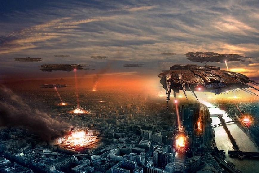 Alien invasion by Sardo666