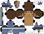 Cubeecraft of Katara Avatar the Last Airbender
