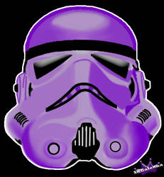 Star Wars Purple Stormtrooper