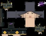 Cubeecraft of Lin Beifong from Legend of Korra