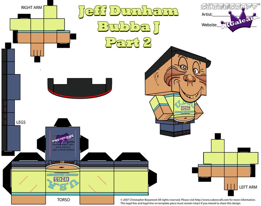 Jeff Dunham's Puppet Bubba J Cubeecraft PT2 by SKGaleana