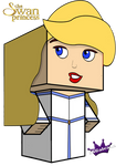 Cubeecraft of Odette from The Swan Princess by SKGaleana