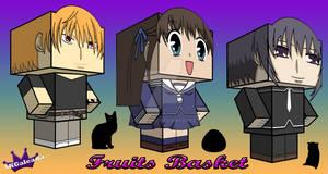 Fruits Basket trio