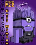 Despicable Me Evil Purple Minion 3D