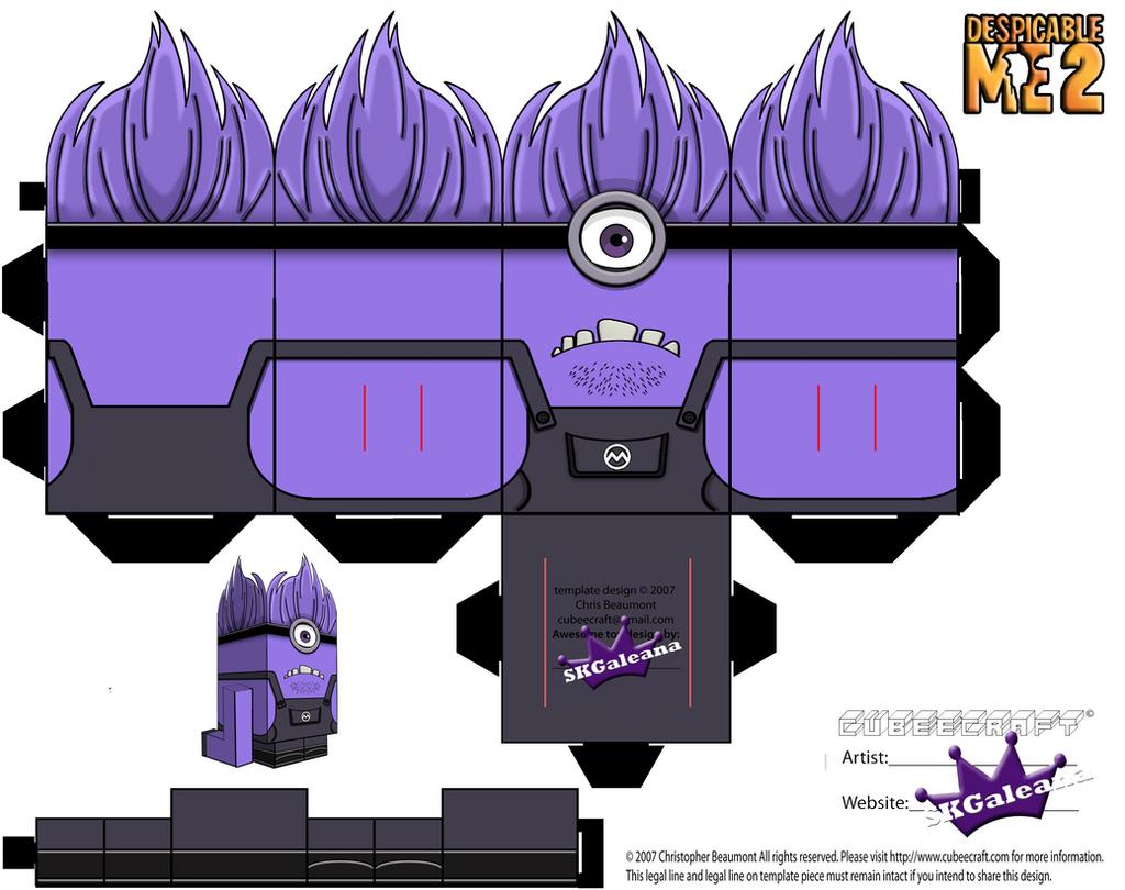 Despicable Me 2 Purple Minions