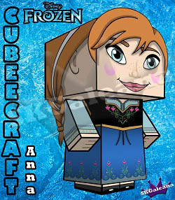 Disney Princess Frozen Anna 3D Coming Soon by SKGaleana