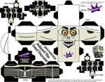 Jeff Dunham Achmed cubeecraft by SKGaleana