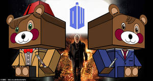 Cubeecraft Doctor Who Teddy in Day of the Doctor 1 by SKGaleana