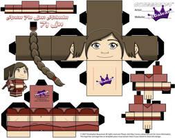 Ty Lee Avatar the Last Airbender Cubeecraft Temp by SKGaleana