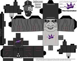 Cubeecraft Halloween Horror Nights The Caretaker 1 by SKGaleana