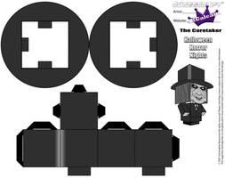 Cubeecraft Halloween Horror Nights The Caretaker 2 by SKGaleana