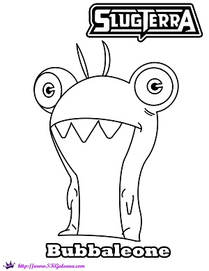 slugterra coloring pages transformation quotes - photo#7