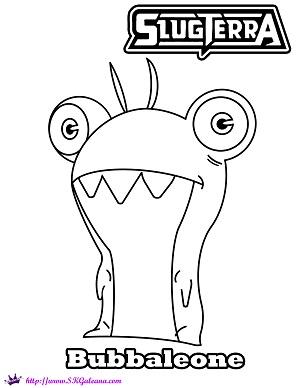all slugterra slugs coloring pages - photo#37