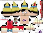 Pinocchio Cubeecraft SKGaleana
