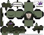 Arrow Cubeecraft by SKGaleana without beard