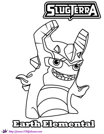 all slugterra slugs coloring pages - photo#8