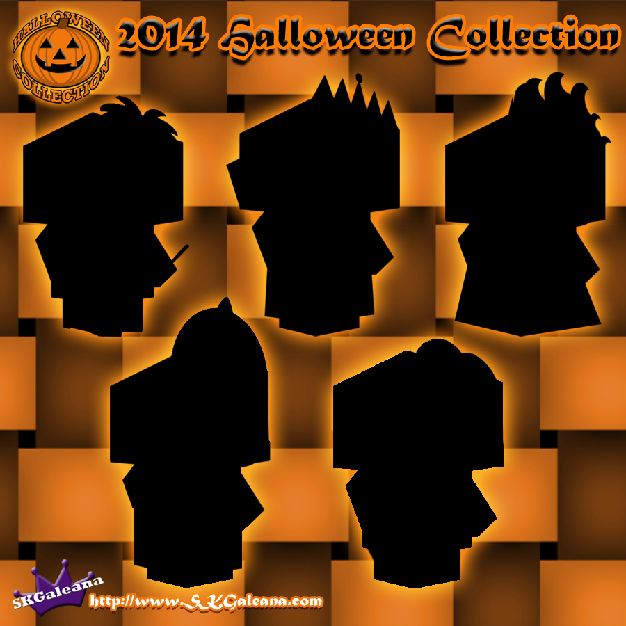 2014 Halloween Cubeecraft Collection SKGaleana by SKGaleana