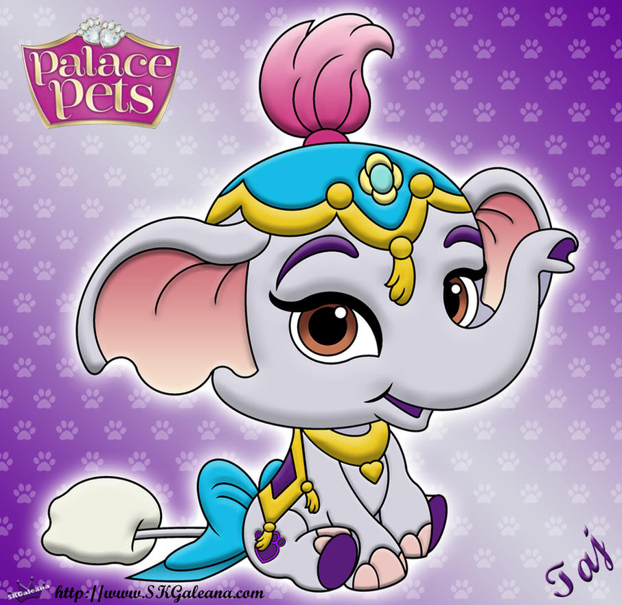 Princess Palace Pet Taj Coloring page by SKGaleana
