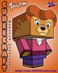 TaleSpin Rebecca Cunningham 3D Cubeecraft