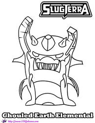 Energy Elemental coloring page   Free Printable Coloring Pages   250x194