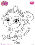 Nyle Princess Palace Pet Coloring Page