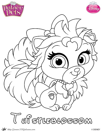 skgaleana 2 0 thistleblossom princess palace pet coloring page by skgaleana