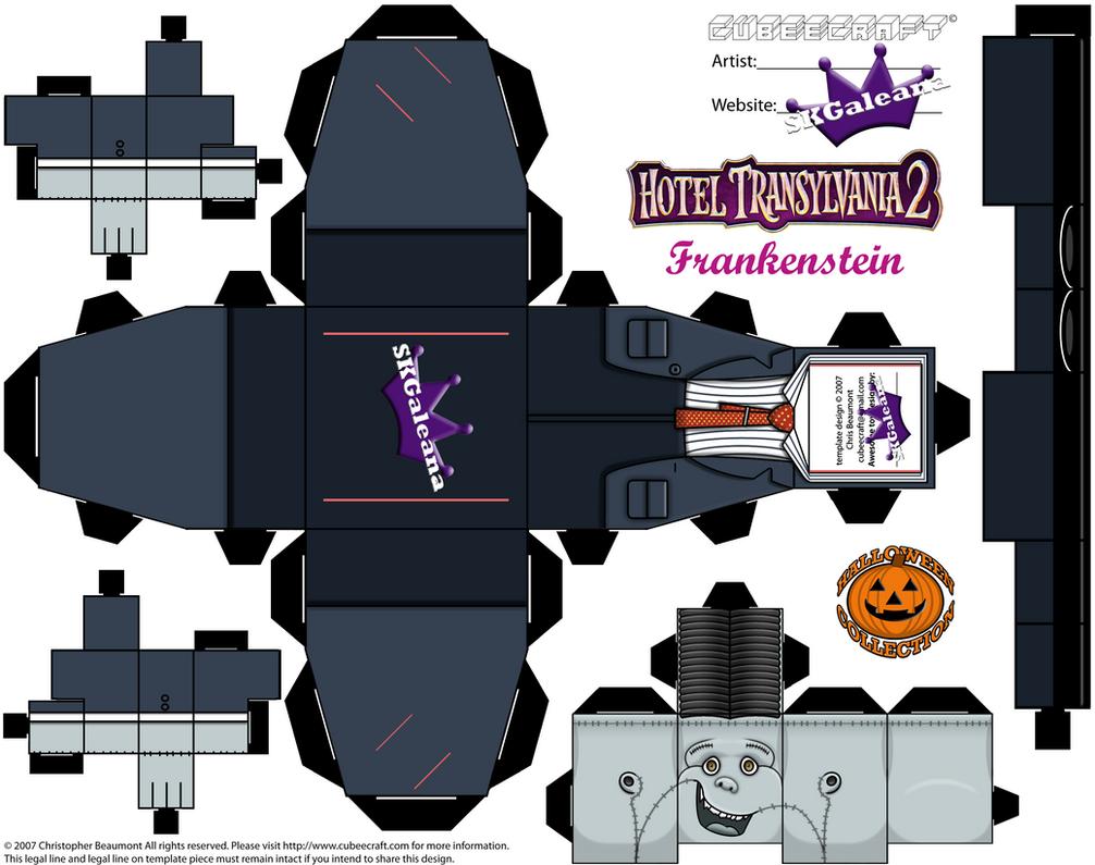 Hotel Transylvania 2 Frankenstien Cubeecraft Temp By SKGaleana