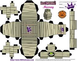 Hotel Transylvania 2 Murray Cubeecraft temp by SKGaleana