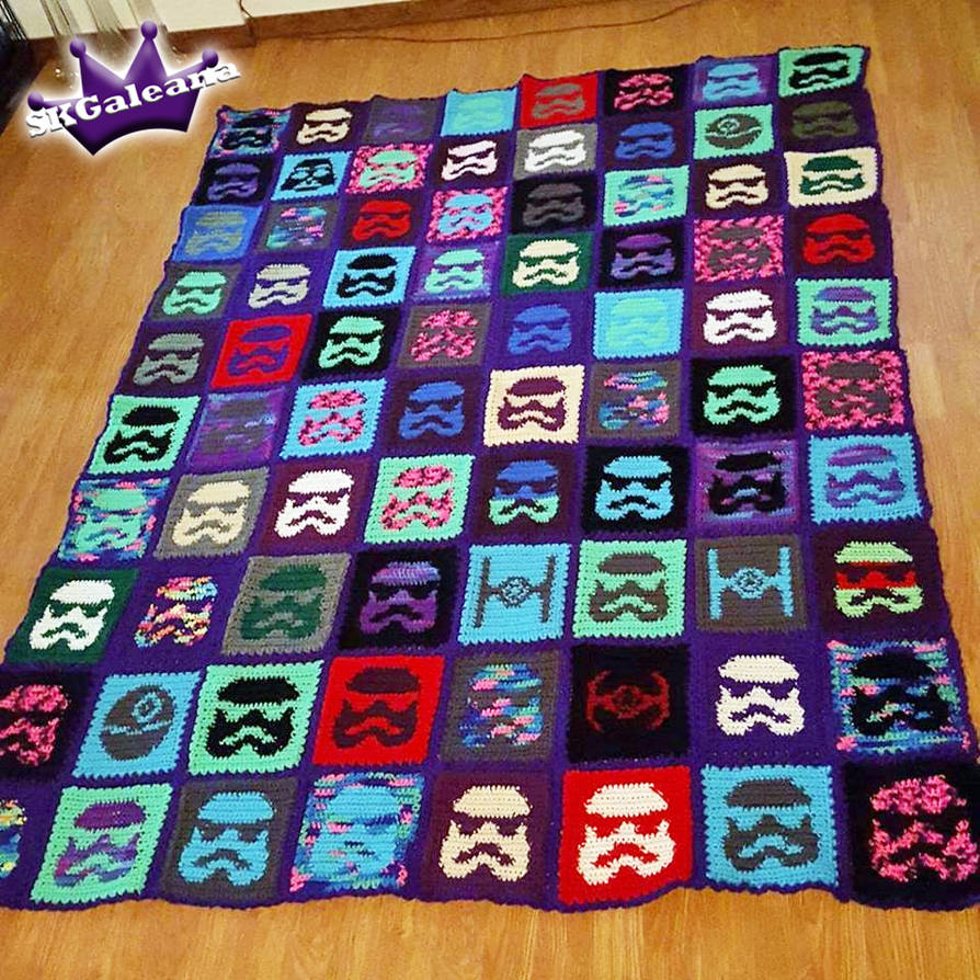 Star Wars Crochet Blanket by SKGaleana by SKGaleana