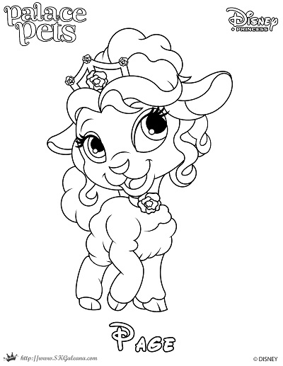 Coloring Page Of From Princess Palace Pets By SKGaleana