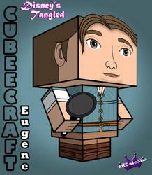 Disney Princess Tangled Eugene Cubeecraft 3d