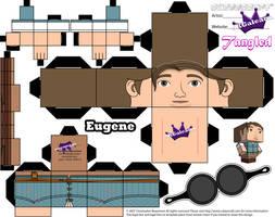 Disney Princess Tangled Eugene Cubeecraft