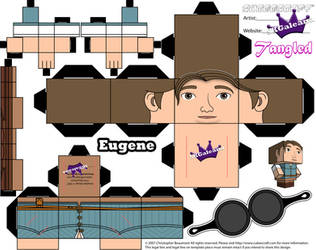 Disney Princess Tangled Eugene Cubeecraft by SKGaleana