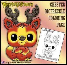 Wetmore Forest Chester McFreckle coloring page