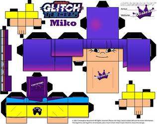 Glitch Tech Miko 2  Cubeecraft by SKGaleana small