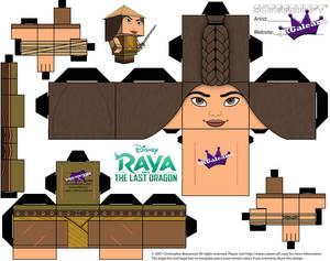 Raya and the Last Dragon Cubeecraft part 1