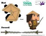 Raya and the Last Dragon Cubeecraft part 2 by SKGaleana