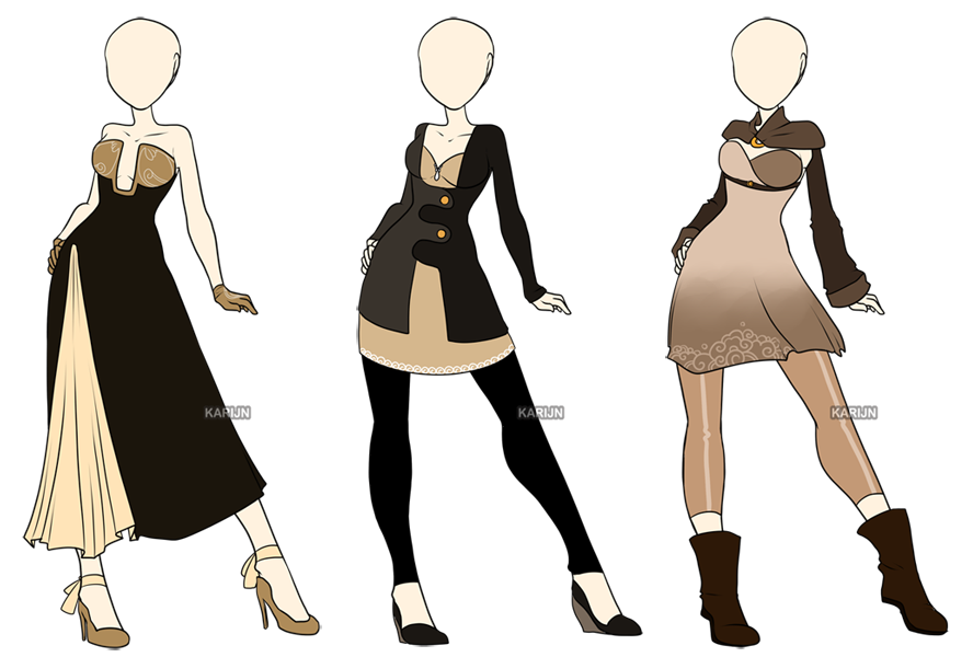 Fashion Adoptables - CLOSED by Karijn-s-Basement