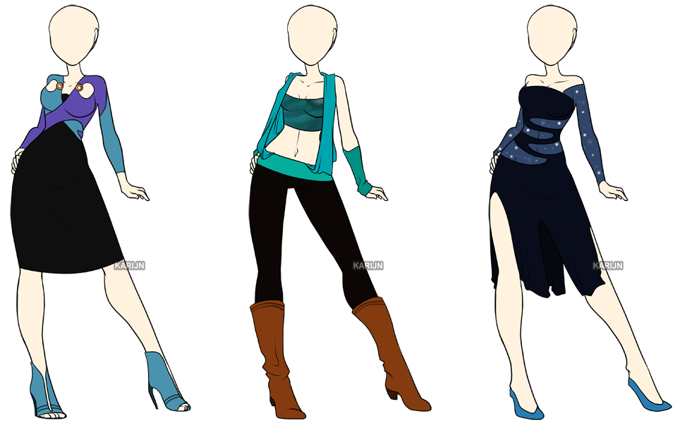 fashion adoptables 5 closed by karijn s basement on deviantart