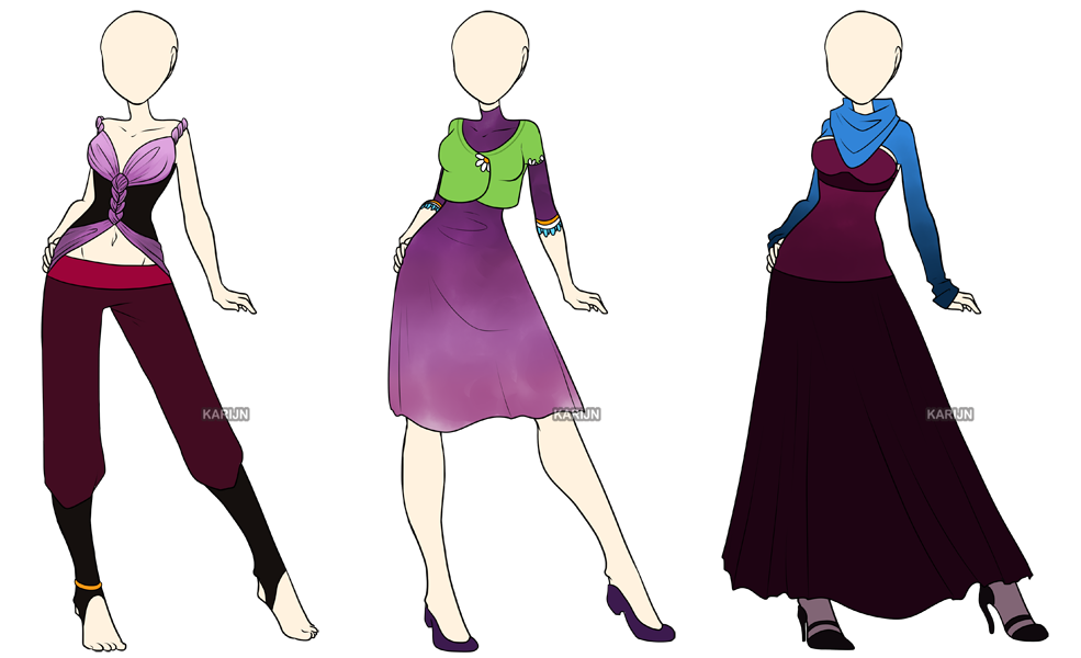 fashion adoptables 6 closed by karijn s basement on deviantart