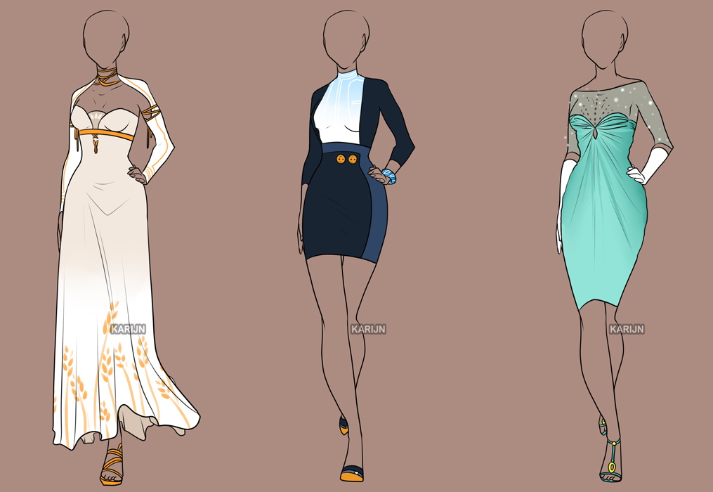 fashion adoptables auction 3 closed by karijn s basement on