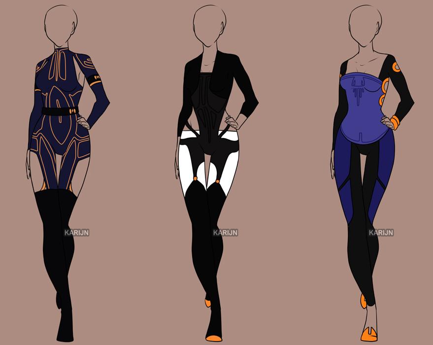Fashion Adoptables 8 - CLOSED by Karijn-s-Basement