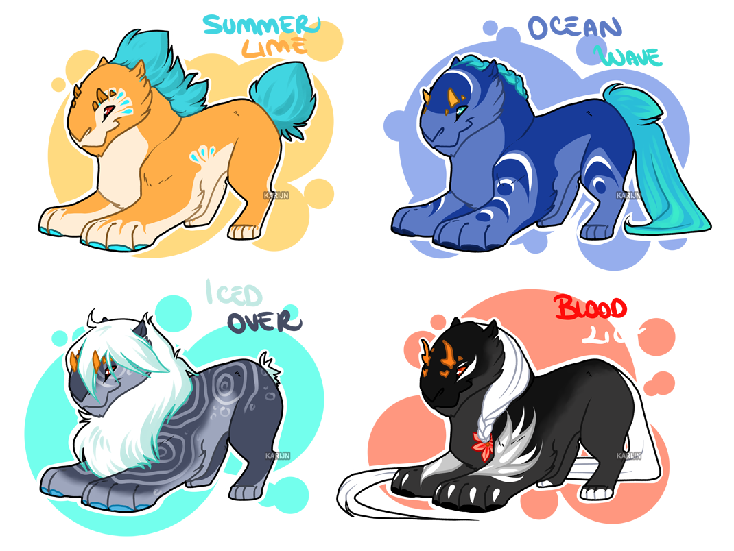 Chibi Diantha Adoptables - OPEN by Karijn-s-Basement